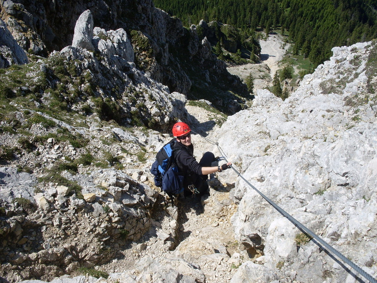 Klettersteig Tannheimer Tal : Tannheimer tal friedberger klettersteig and rote flueh in nature