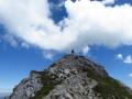 last meters before reaching the summit of Gaishorn