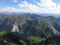 view down to Vilsalpsee from Gaishorn